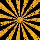 Gekraste grunge achtergrond in vorm van zonstralen Royalty-vrije Stock Afbeelding