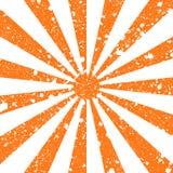 Gekraste grunge achtergrond in vorm van zonstralen Stock Foto