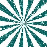 Gekraste grunge achtergrond in vorm van zonstralen Stock Afbeelding