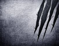 Gekraste metaalachtergrond Stock Afbeeldingen