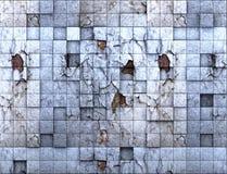 Gekraste muur Stock Fotografie
