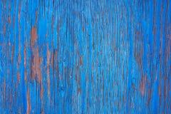 Gekraste muur van hout Stock Foto