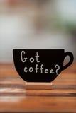 Gekregen koffie? Royalty-vrije Stock Afbeeldingen