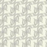 Gekritzel-Blatt-Hintergrund Lizenzfreies Stockfoto