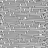 Gekritzel stürzt nahtloses Muster Stockfotos