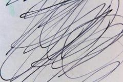 Gekritzel-Zeichnungs-Oberflächen-Hintergrund-Detail stock abbildung