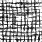 Gekritzel-Zellmuster-Hand gezeichnet in Bleistift Lizenzfreie Stockfotos