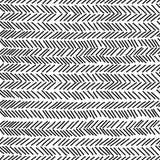 Gekritzel zerschneidet nahtloses Muster Lizenzfreies Stockbild