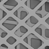 Gekruiste Lijnen Abstract Grey Cover Background Stock Foto's