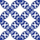 Gekruld naadloos herhaalt patroon vector illustratie