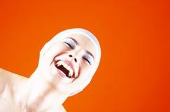 Gelächter ist für die Seele gut.   Lizenzfreies Stockbild
