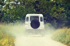 Geländefahrzeug aus den Grund Stockfoto