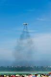 Geländeläuferflugzeuge der spanischen Armada lizenzfreie stockfotos