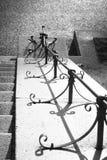 Geländer auf den Schritten in Frognerpark Oslo Stockbild