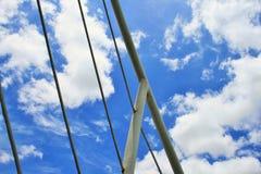 Geländer auf Kreuzfahrtschiff lizenzfreie stockbilder