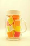 Gelée colorée dans le style de doux et de tache floue Photo stock