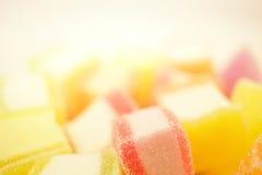 Gelée colorée dans le style de doux et de tache floue Images stock