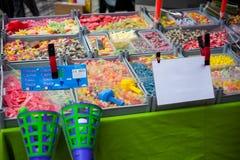Gelée colorée de sucrerie photographie stock libre de droits