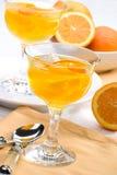 Gelée d'orange de Champagne photos libres de droits