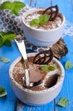 Gelée de chocolat images stock