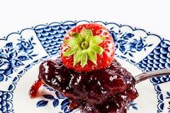Gelée de fraise image libre de droits