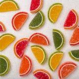 Gelée de fruit sur un dessus de table photographie stock libre de droits