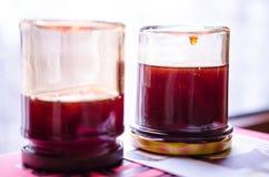 Gelée de nèfle refroidissant images stock
