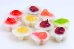 Gelée de noix de coco Image stock