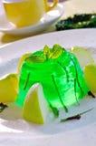 Gelée de pomme verte Photographie stock libre de droits