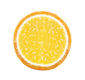 Gelée orange en sucre photos stock