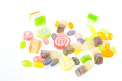 Gelée, sucrerie de gelée Photo stock