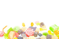 Gelée, sucrerie de gelée Images stock