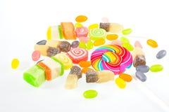 Gelée, sucrerie de gelée Images libres de droits