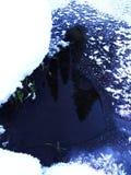 Gelée sur la glace 2 Image libre de droits