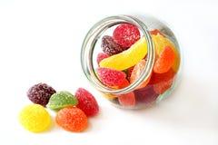 Geléia de fruta Imagem de Stock