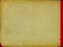 Gelöschter alter Bucheinband lizenzfreies stockbild
