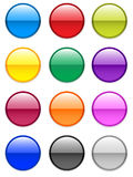 Gel Buttons / EPS Royalty Free Stock Image