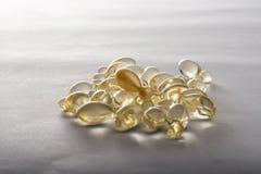 Gel capsules Stock Photos
