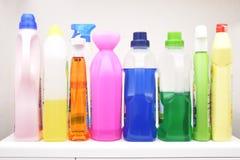 Gel coloré de lavage Photos libres de droits