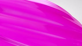 Gel 3d shape motion, abstract intro background stock footage
