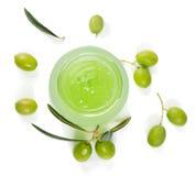Gel delle olive Fotografie Stock
