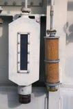 Gel di silice per controllo di umidità Fotografia Stock