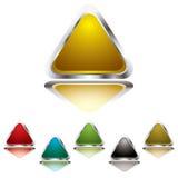 Gel do triângulo ilustração royalty free