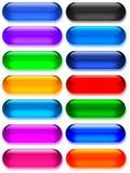 Gel grande/botones de cristal Imagen de archivo libre de regalías