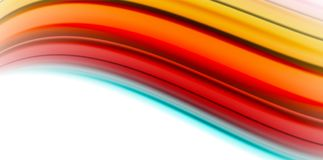 Gel jelly fluid flowing liquid rainbow style colours, wave abstract background, modern minimal colorful design. Vector illustration stock illustration
