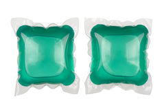 Gel laundry capsules Royalty Free Stock Images