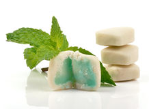 Gel mint stock photography