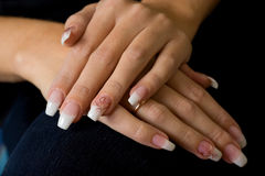 Gel nails. Royalty Free Stock Photos