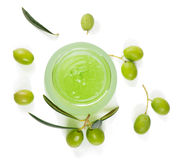 Gel of olives Stock Photos