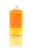 Gel do chuveiro isolado no branco Fotografia de Stock
